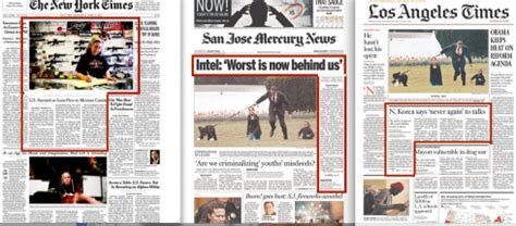 modular layout newspaper blog for german daily page one controversy over image