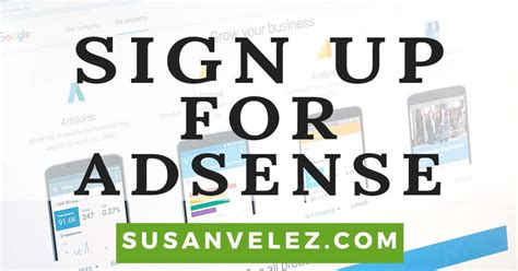 google adsense sign up tutorial how to sign up for google adsense