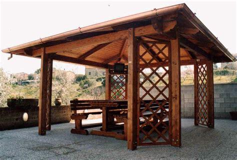 gazebo in legno roma gazebi in legno michedil