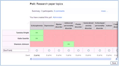 doodlebug poll scheduling a bunch of try doodle technology for