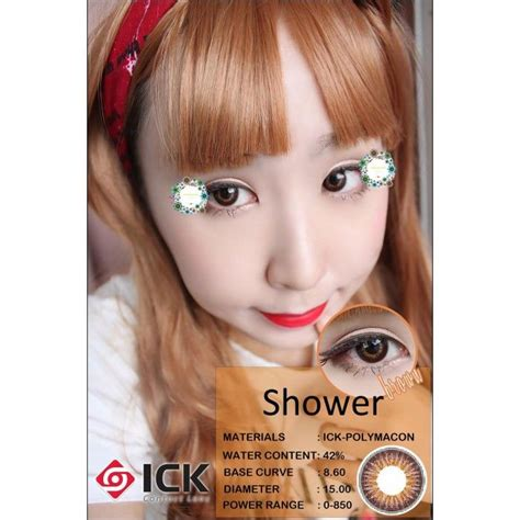 Shower Contact Lenses by Ick Shower Brown Lens Lensvillage