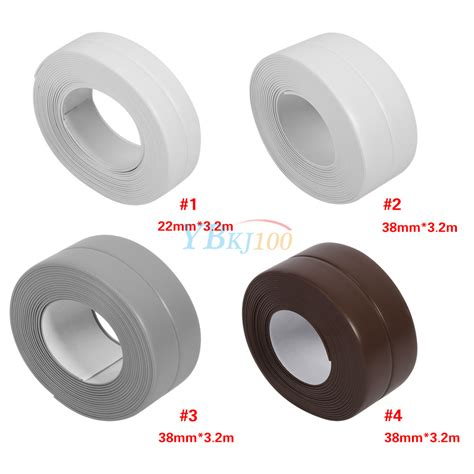 self adhesive cabinet edging tape bath wall sealing strip self adhesive tape for gas stove