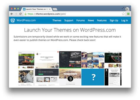 new themes in wordpress wordpress com suspends theme submissions from new sellers