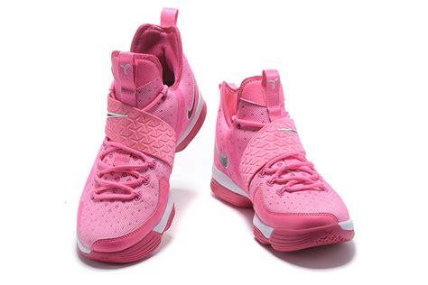 nike lebron 14 think pink black lebron 2017 shoes
