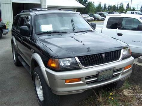 1998 mitsubishi montero sport air conditioner installation instruction manual original 1998 mitsubishi montero for sale carsforsale com