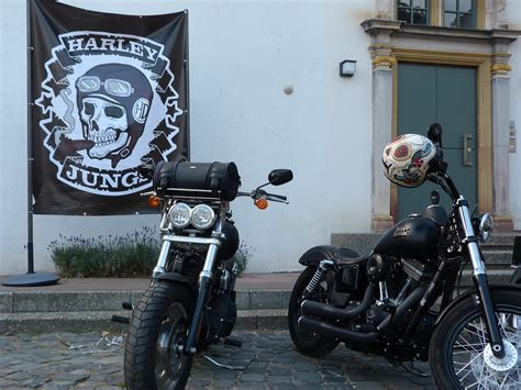 Motorrad Lange In Frankfurt Oder by Die Harley Jungs Im H 246 Chster Schloss J 252 Rgen Lange