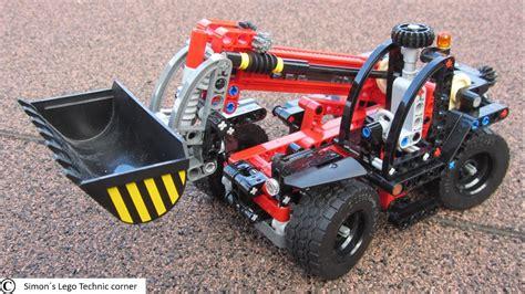 Lego 42061 Technic Telehandler lego technic 42061 telehandler replica