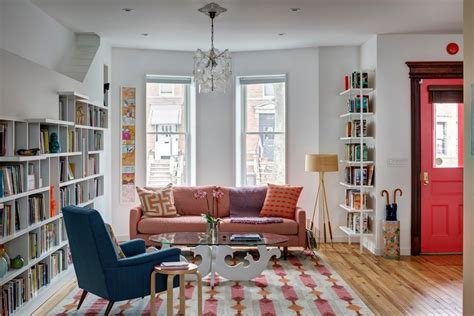 home design for book lovers energetic house for book lovers and cats in brooklyn ny