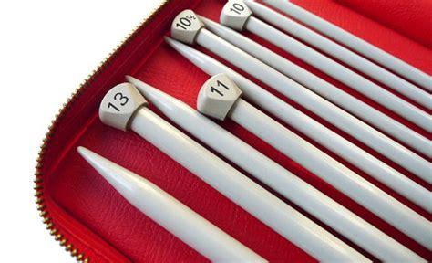 knitting needle set vintage bernat aero knitting needles set bright made
