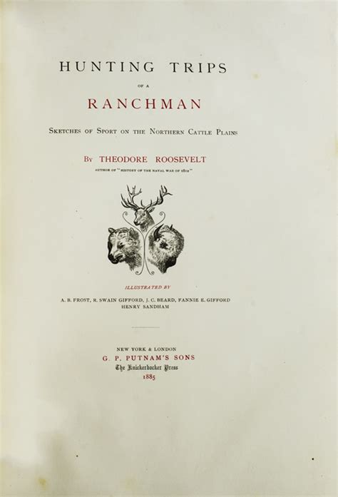 trips of a ranchman sketches of sport on the northern cattle plains classic reprint books trips of a ranchman sketches of sport on the