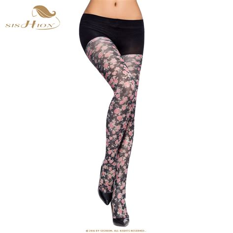 flower pattern hosiery women tights 2017 pretty spring autumn collant opaque high
