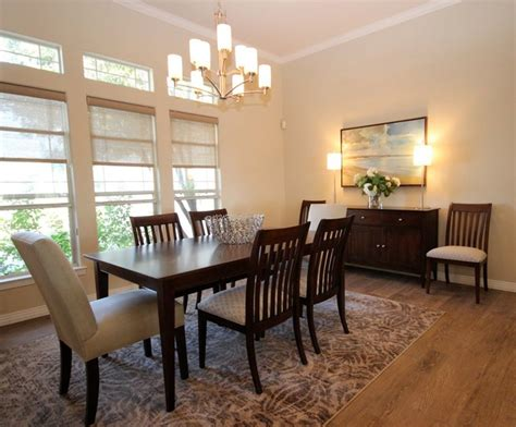 Houzz Informal Dining Room Casual Contemporary Home Transitional Dining