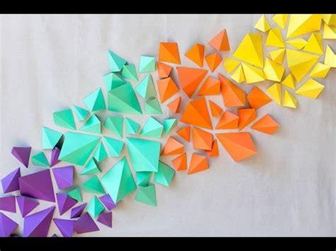 Make Paper Design - how to make kraft paper geometric backdrop