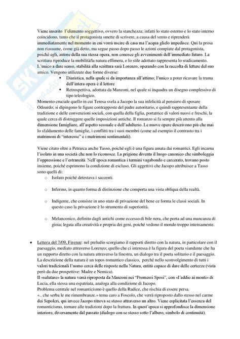 ultime lettere di jacopo ortis riassunto letteratura italiana contemporanea le ultime lettere di