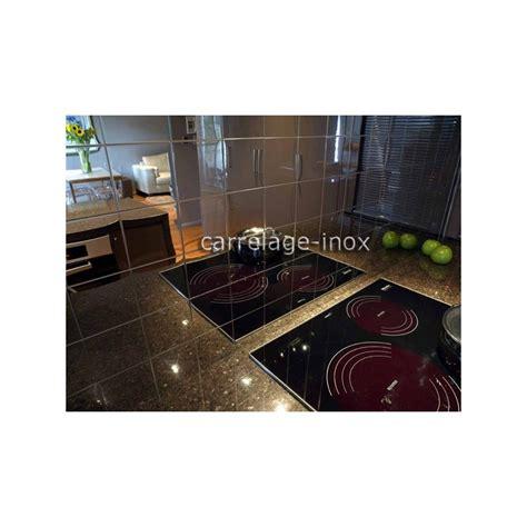 carrelage inox cuisine carrelage inox poli miroir mosaique credence cuisine