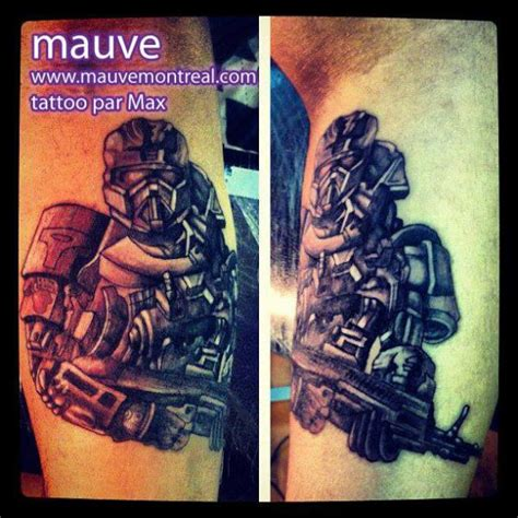 biomechanical tattoo montreal arm fantasy warrior tattoo by mauve montreal