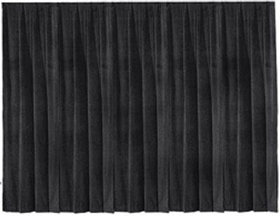 black draping 12 tall velour pipe drape vancouver drape rental