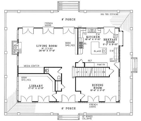two bedroom house plans with porch unique 2 bedroom house plans wrap around porch new home plans design