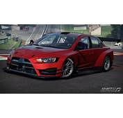 Image  Mitsubishi Lancer Evolution X Shift 2 Unleashed