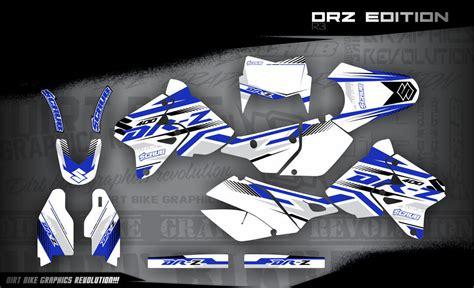 Suzuki Drz 400 Aufkleber by Suzuki Drz 400 Dekor 1999 2016 Drz Edition R3 Mx Kingz