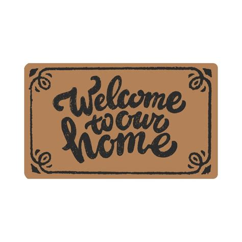 Welcome To Our Home Doormat - aliexpress buy welcome to our home doormat indoor
