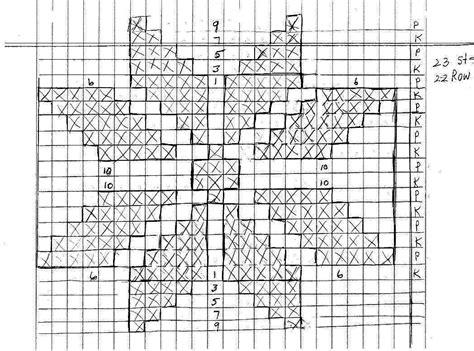 snowflake graph pattern knitting tips by judy knitting videos knitting lessons