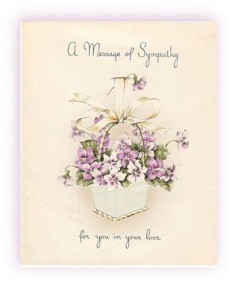 funeral greeting card template for lightroom sympathy 1945 vintage greeting cards vintage paper and