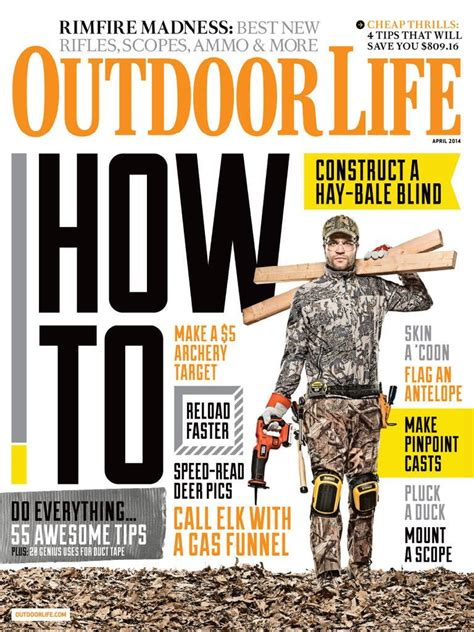 outdoor life free 1 year subscription to outdoor life magazine