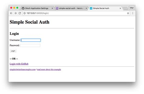 django creating a login page how to add social login to django