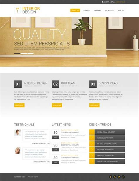 layout cms free 75 best free premium drupal themes of 2014 savedelete