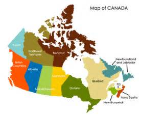 what is the capital of canada map