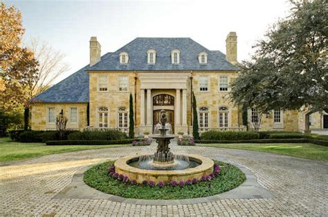 french manor house plans classic country french manor in dallas homes of the rich