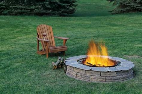 building a firepit in your backyard diy inspiring fire pit designs