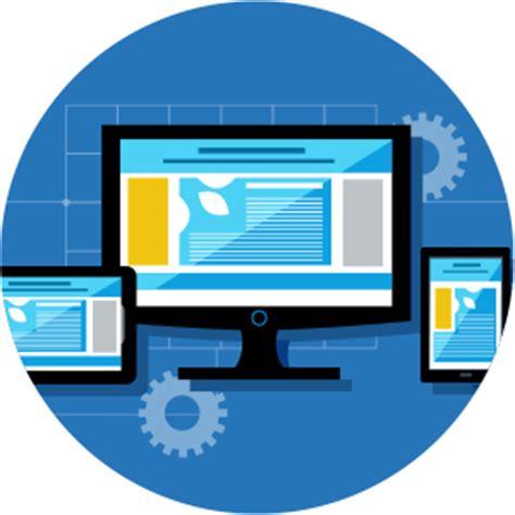 web design icon navigation responsive website design agency trighton interactive