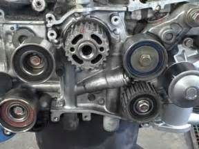 Subaru Timing Belt Replacement Subaru Owner Tips Timing Belt Idlers