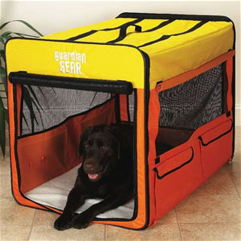 large travel crate collapsible soft crate large