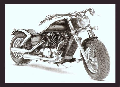 Harley Davidson Drawings by Harley Motorcycle Drawing Www Imgkid The Image Kid