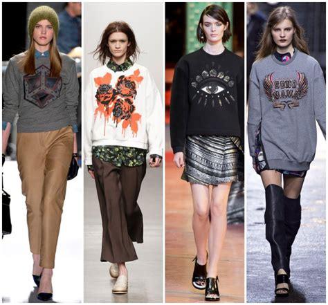 Fashion Week Trends 3 by Fall 2013 Fashion Week Trends Sweatshirts Sydne Style