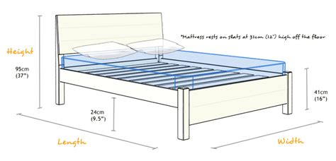 dimensions for full size bed full size bed dimensions roole