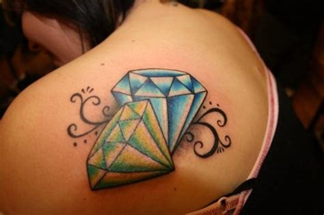 diamond jewel tattoo designs tattoos photo gallery