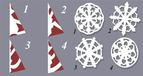 How To Make Pretty Paper Snowflakes - pin paper snowflakes patterns on