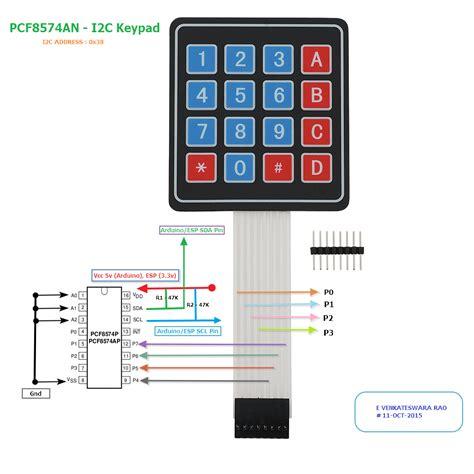 pull up resistor keypad i2c pullup resistor esp8266 28 images esp8266 01 pin magic how to use the esp8266 01 pins