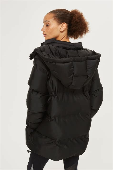 purchase comfortable cheap miss chen vlone hoodie oversized bonded puffer jacket by ivy park topshop europe
