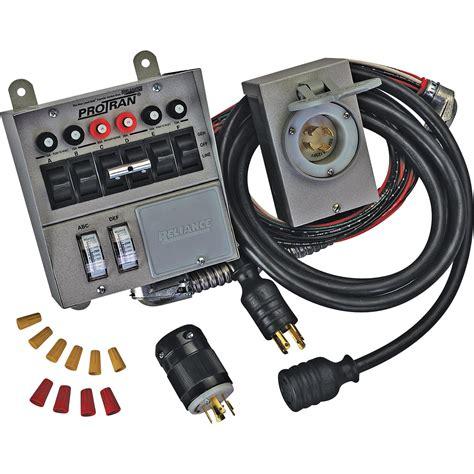 Switch Genset reliance transfer switch kit 6 circuit model 31406crk