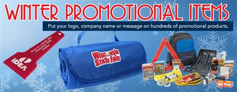 Winter Promotional Giveaways - winter promotional products imprinted with your logo or message