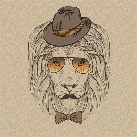 imagenes hipster de leones 戴墨镜的狮子插画模板下载 图片编号 20131008084409 陆地动物 生物世界 矢量素材 聚图网