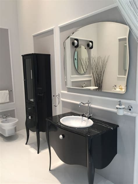 Black Dresser Without Mirror How To Integrate A Black Vanity Into The Bathroom Without Overdoing It