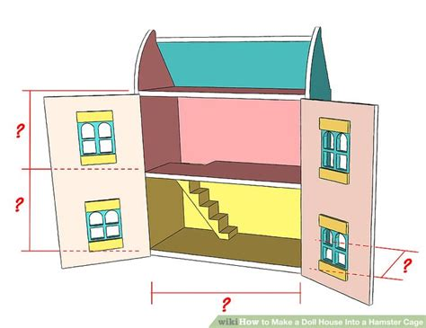 how make doll house how to make a doll house into a hamster cage 12 steps
