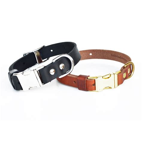 leather collar release leather collar