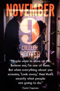 November 9 By Colleen Hoover illustrated temptations november 9 by colleen hoover bookish temptations